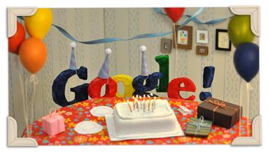 13º Aniversário do Google