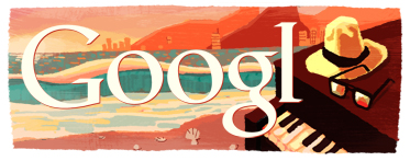 Logo Google Tom Jobim