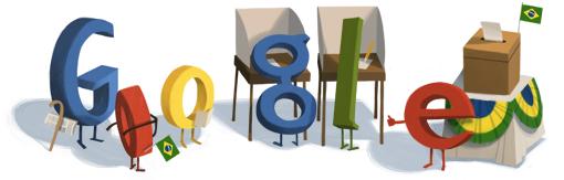Google Logo: Brezilian Elections 2012