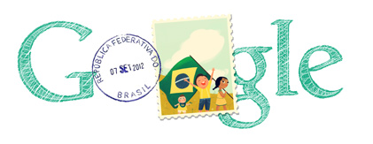 Google Logo: Brasil Independence Day - 2012