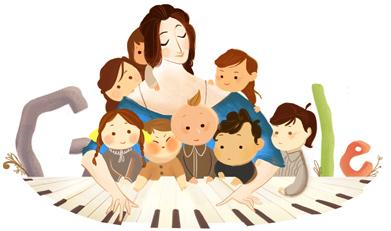 193º Aniversário de Clara Schumann