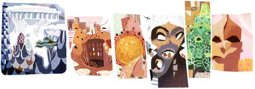161º Aniversário de Antoni Gaudí