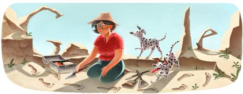 100º Aniversário de Mary Leakey