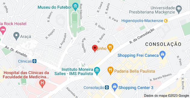Mapa de Av. Angélica, 2466 - Bela Vista, São Paulo - SP, 01228-200