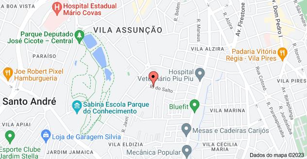 Mapa de R. do Salto, 72 - Vila Alzira, Santo André - SP, 09195-140