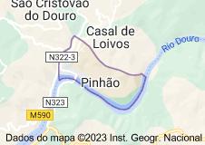 Mapa de pinhão