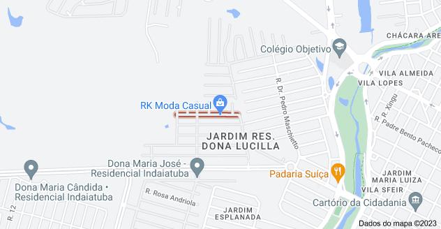 Mapa de R. José Germano - Jardim Esplanada, Indaiatuba - SP, 13331-514