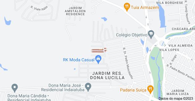 Mapa de R. Geraldo Moro - Jardim Res. Maria Dulce, Indaiatuba - SP