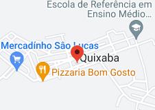 Mapa de prefeitura municipal de quixaba