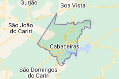 Mapa de cabaceiras