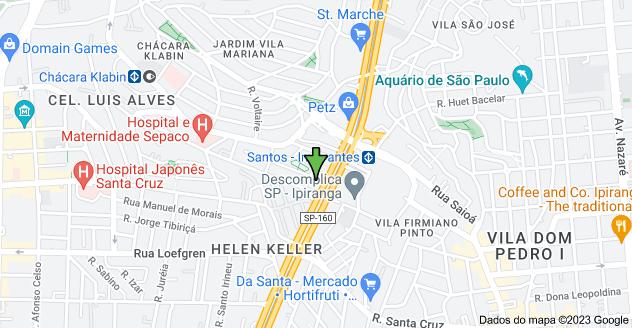 Mapa de Av. Dr. Ricardo Jafet, 2510 - Vila Mariana, São Paulo - SP, 04123-020