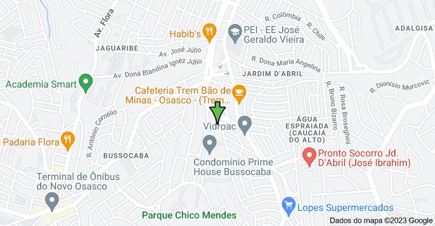 Mapa de R. Lázaro Suave, 283 - City Bussocaba, Osasco - SP