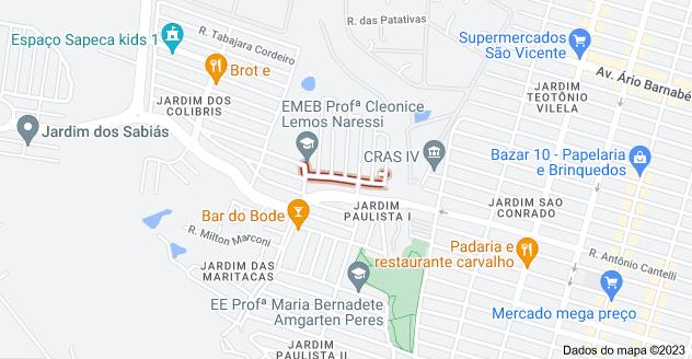 Mapa de R. Ver. Antônio Bicudo de Almeida, Indaiatuba - SP