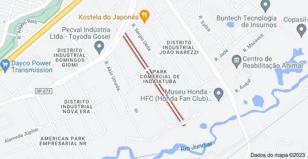 Mapa de R. Fortunato José Deltreggia - Park Comercial de Indaiatuba, Indaiatuba - SP