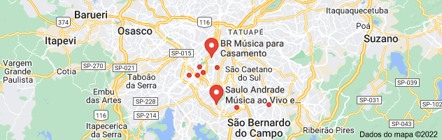 Mapa de MUSICOS PARA EVENTOS