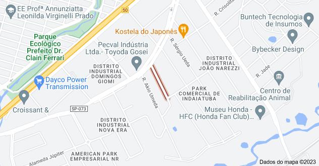 Mapa de R. Atílio Canova - Centro Empresarial de Indaiatuba, Indaiatuba - SP