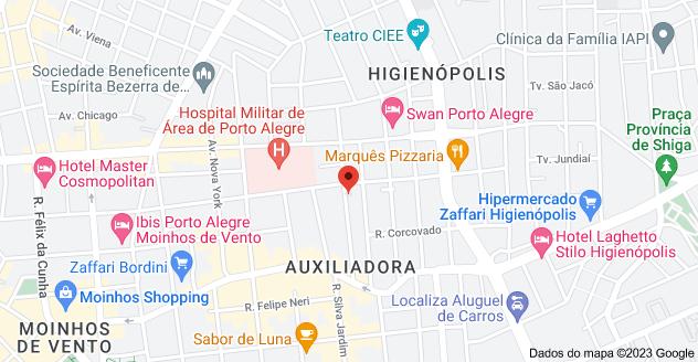 Mapa de R. Germano Petersen Júnior, 350 - Moinhos de Vento, Porto Alegre - RS, 90540-001