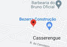 Map of prefeitura municípal de casserengue